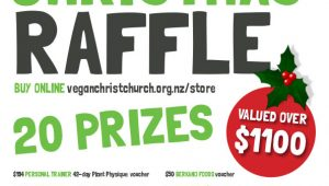 CHRISTMAS RAFFLE TICKETS ON SALE NOW