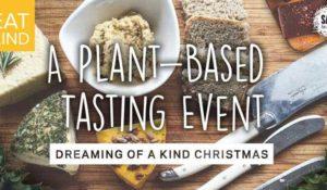 Kind Christmas food tasting invite